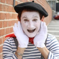 Derek the Mime - Mime in Salmon Arm, British Columbia