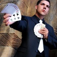 Derrick Allen - Strolling/Close-up Magician in Santa Barbara, California