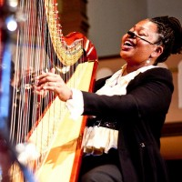 Destiny Muhammad - Harpist in Waterloo, Iowa