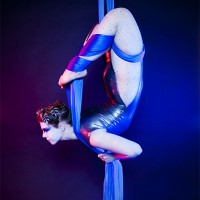 Detroit Circus - Aerialist in Bay City, Michigan
