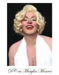 Devon as Marilyn Monroe