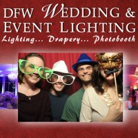 DFW Wedding and Event Lighting - Photo Booth Company in Flower Mound, Texas