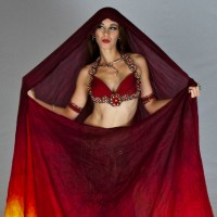 Rebecca Hartman Belly Dance - Dance in Brownsville, Texas
