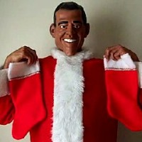 Dial-o-bama - Santa Claus in Manhattan, New York