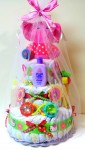 3 Tier Diaper Cake