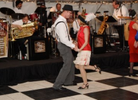 Different Hats Promotion Performance - Dixieland Band in Stockton, California