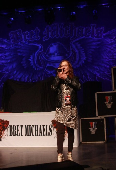 Bret Michaels - MC host for Vision Ent