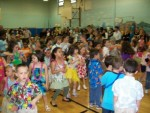 Fun with the kids - Luau