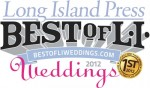 Placed 1st for Best Wedding DJ by Long Islanders