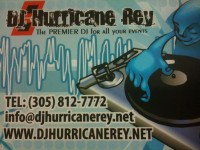 DJ Hurricane Rey - Club DJ in Coral Gables, Florida