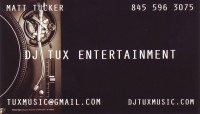 DJ Tux Entertainment - Wedding DJ in Poughkeepsie, New York