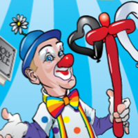 Dodger the Clown - Balloon Twister in Hibbing, Minnesota