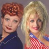 Dolly Parton and Lucille Ball Impersonator