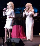 On stage with Dollys
