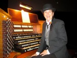 As Charlie at Grace Cathedral Console