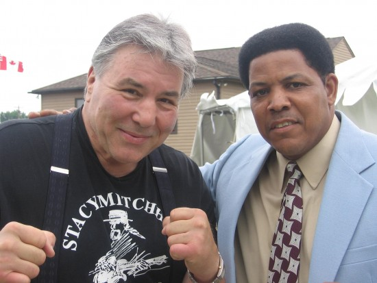 with Former Canadian Heavyweight George Chavalo