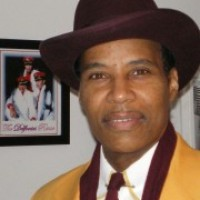 Dr Salaam Love of the Delfonics - Motown Group in Atlantic City, New Jersey