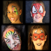Dream Catchers Face Painting - Inflatable Movie Screen Rentals in Overland Park, Kansas