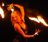 Dreamweaver Arts - Fire Performer in Jacksonville, Florida
