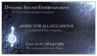 Dynamic Sound Entertainment