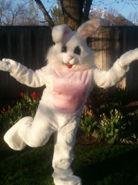 Easter Bunny in Seattle
