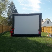 Eastern CT Moonwalks - Inflatable Movie Screen Rentals in Barrington, Rhode Island