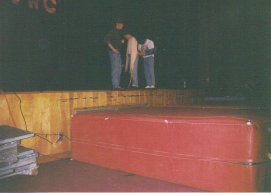 Strait Jacket Escape At 1995 H.S. Talent Show