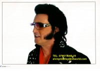 Elvin Priestley from UK - Elvis Impersonator in Brooklyn, New York