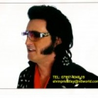 Elvin Priestley from UK - Elvis Impersonator / Rock and Roll Singer in New York City, New York