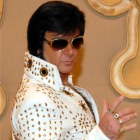 Elvis Of Vegas - Sports Exhibition in Redding, California