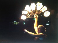 EMay - Fire Dancer in Morgantown, West Virginia