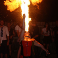 Ember Furie - Fire Dancer in Coral Gables, Florida