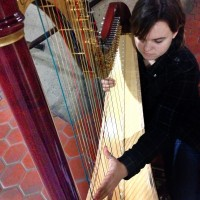 Emily Mason, Classical/Pop Harpist - Christmas Carolers in Mobile, Alabama