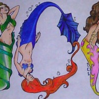 Enchanted Mermaid - Caricaturist in Alexandria, Virginia