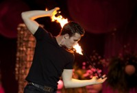Energemata Poi - Fire Eater in Raleigh, North Carolina