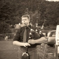 Eric Ouellette, Professional Bagpiper - Folk Band in Syracuse, New York