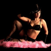 Eva D'Luscious - Burlesque Entertainment / 1920s Era Entertainment in Sebastopol, California
