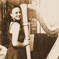 Evah Hellewell - Harpist in Lewiston, Maine