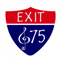 Exit 675 - Brass Musician in Traverse City, Michigan