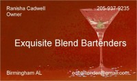 Exquisite Blend Bartenders - Tent Rental Company in Talladega, Alabama