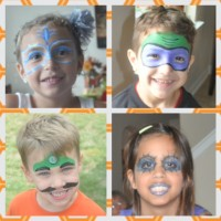 Fabulously Fun Face Painting By Raquel - Face Painter in The Woodlands, Texas