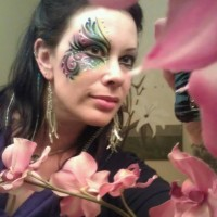 Temporary Body & Hair Art by Mayuri - Princess Party in Santa Fe, New Mexico