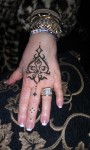 Elegant Hand Henna