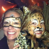 Face painting by Karen - Inflatable Movie Screen Rentals in Mason City, Iowa