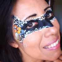 Face painting by me /Pintando Caritas
