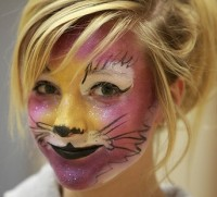 Face Painting by Megan - Clown in White Rock, British Columbia