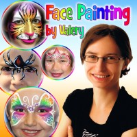 Face Painting by Valery - Fine Artist in ,
