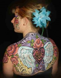 Enchanted Brushstrokes, Face and Body Painting by Amy Enright