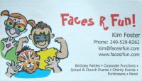 Faces R Fun! - Super Hero Party in Aurora, Colorado
