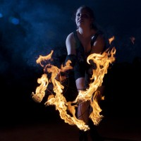 [faith + flow] - Fire Dancer in South River, New Jersey